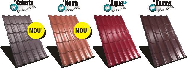 4 tipuri de tabla tip tigla metalica acoperis Rufster